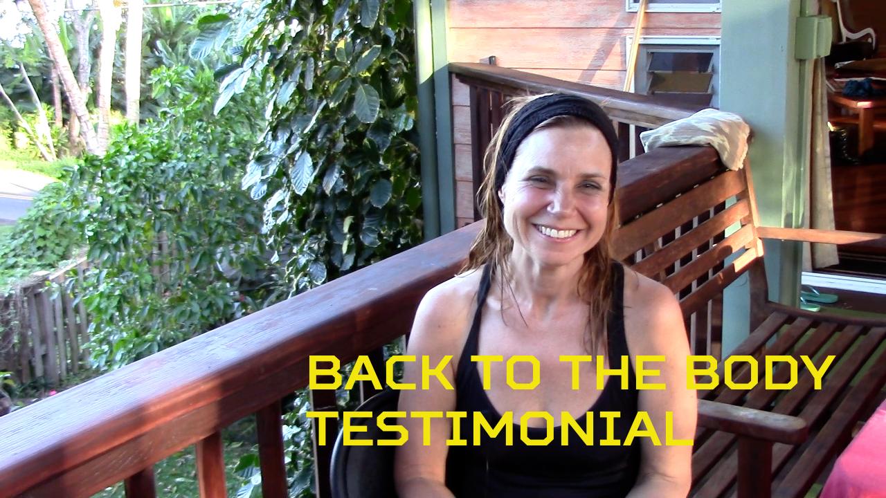 Back to the Body Testimonial